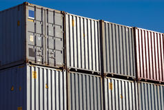 Shipping Container Royalty Free Stock Photo