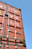 Shipping Container Royalty Free Stock Photography