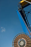 Shipping container crane Stock Image
