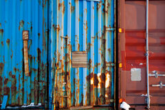 Shipping Container Texture Royalty Free Stock Image