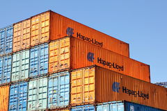 Shipping containers Royalty Free Stock Image