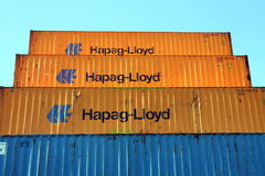 Shipping containers Stock Photography