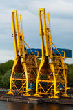 Shipping Cranes Stock Photos