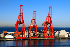 Shipping Cranes Royalty Free Stock Photos