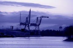 Free Shipping Cranes, Port Of Stockton, California Stock Photos - 5042213