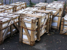 Shipping Crates Stock Photography
