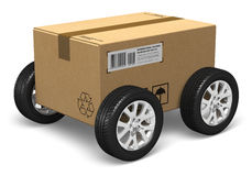 Shipping and delivery concept Royalty Free Stock Photo