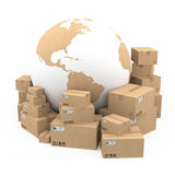 Shipping and delivery concept Stock Photos