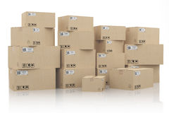 Shipping and delivery concept Royalty Free Stock Images