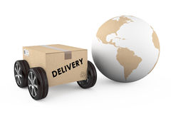 Shipping and delivery concept Royalty Free Stock Photography