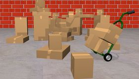 Shipping department Royalty Free Stock Photo