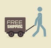 Shipping design Royalty Free Stock Photos