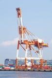 Shipping dock Royalty Free Stock Photos
