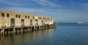 Shipping Dock on the Water Stock Photos
