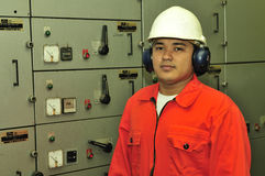 A shipping engineer stock images
