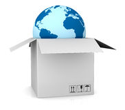 Shipping everywhere Royalty Free Stock Photo