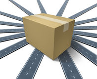 Shipping Everywhere Royalty Free Stock Images