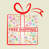 Shipping Free Represents With Our Compliments And Consumer Stock Photos