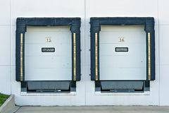 Shipping Gates Royalty Free Stock Images