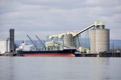 Shipping grain Stock Image