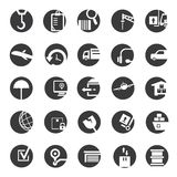 Shipping icons Stock Photos