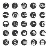 Shipping icons Stock Photos