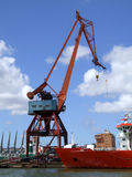 Shipping industry crane 04 Royalty Free Stock Photos
