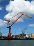 Shipping industry crane 07 Stock Photos