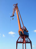 Shipping industry crane Stock Photo