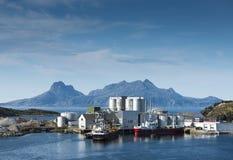 Shipping landscape Stock Photo