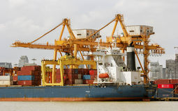 Shipping and logistic Stock Image