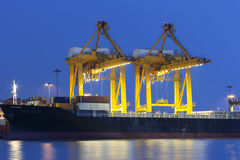 Shipping and logistic Royalty Free Stock Images