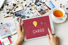 Shipping Logistic Delivery Freight Cargo Concept Royalty Free Stock Photo