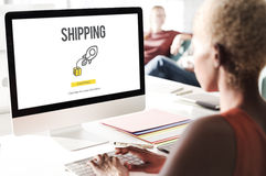 Shipping Logistics Cargo Freight Manufacturing Concept Stock Photos
