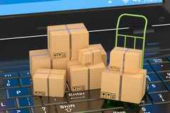 Shipping and logistics concept Royalty Free Stock Images