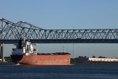 Shipping in New Orleans, Louisiana Stock Photo