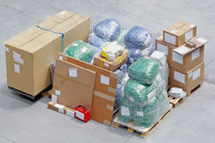 Shipping package Stock Images
