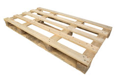 Shipping pallet Royalty Free Stock Photos