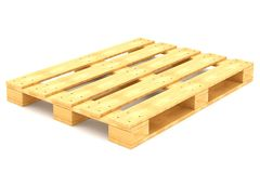 Shipping pallet Royalty Free Stock Images