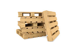 Shipping pallets Stock Images