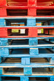 Shipping Pallets Royalty Free Stock Photos