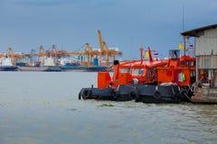 Shipping port Royalty Free Stock Photos