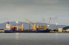 Shipping port, Shipping Industry Royalty Free Stock Images