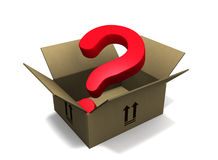 Shipping Question Stock Photo