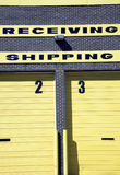 Shipping and Receiving Royalty Free Stock Images