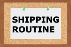 Shipping Routine concept Royalty Free Stock Photos