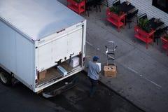 Shipping service. Royalty Free Stock Photos