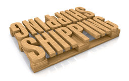 Shipping services Royalty Free Stock Photography