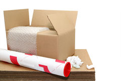 Shipping Stuff Royalty Free Stock Image