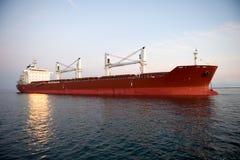 Shipping tanker Stock Photo